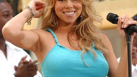 NEW YORK - MAY 30: Singer Mariah Carey