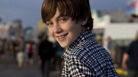 Greyson Chance poses for the camera in this