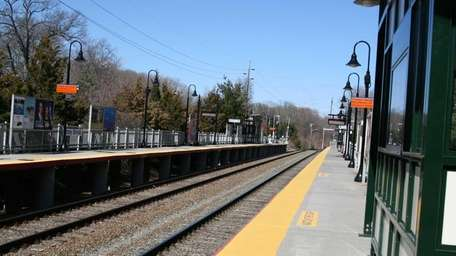 LIRR Stony Brook station, adjacent to the campus