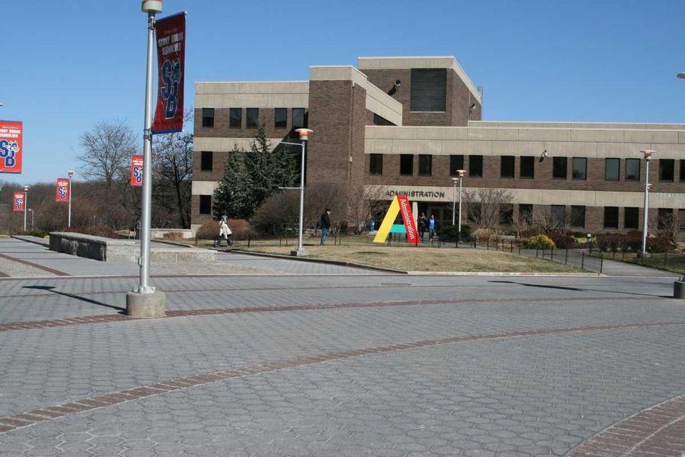 Stony Brook University campus has been around since