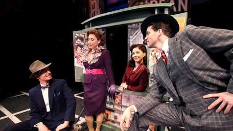 The stage production of Guys and Dolls will