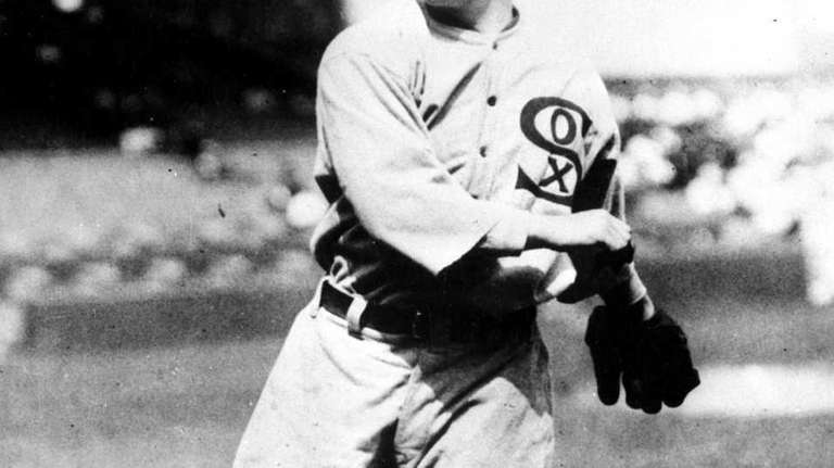 This undated file photo shows Chicago White Sox
