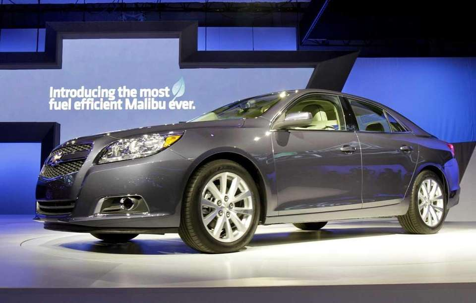 The 2013 Chevrolet Malibu Eco is introduced at