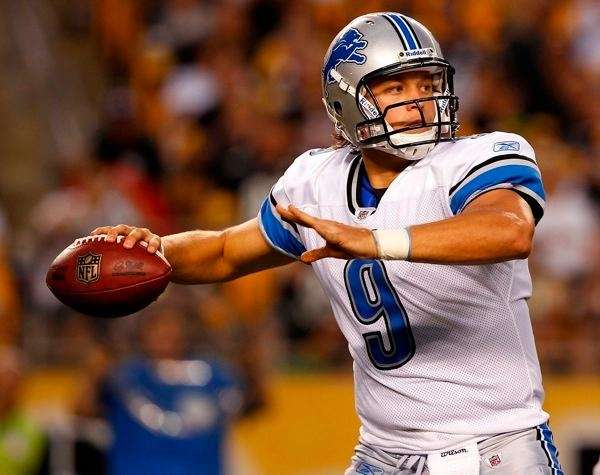 2009: MATTHEW STAFFORD Drafted: 1st round, No. 1