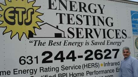 Robert Delfino, whose family owns Energy Testing Services
