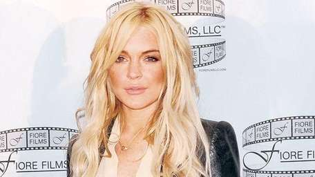 An undated file photo of Lindsay Lohan.