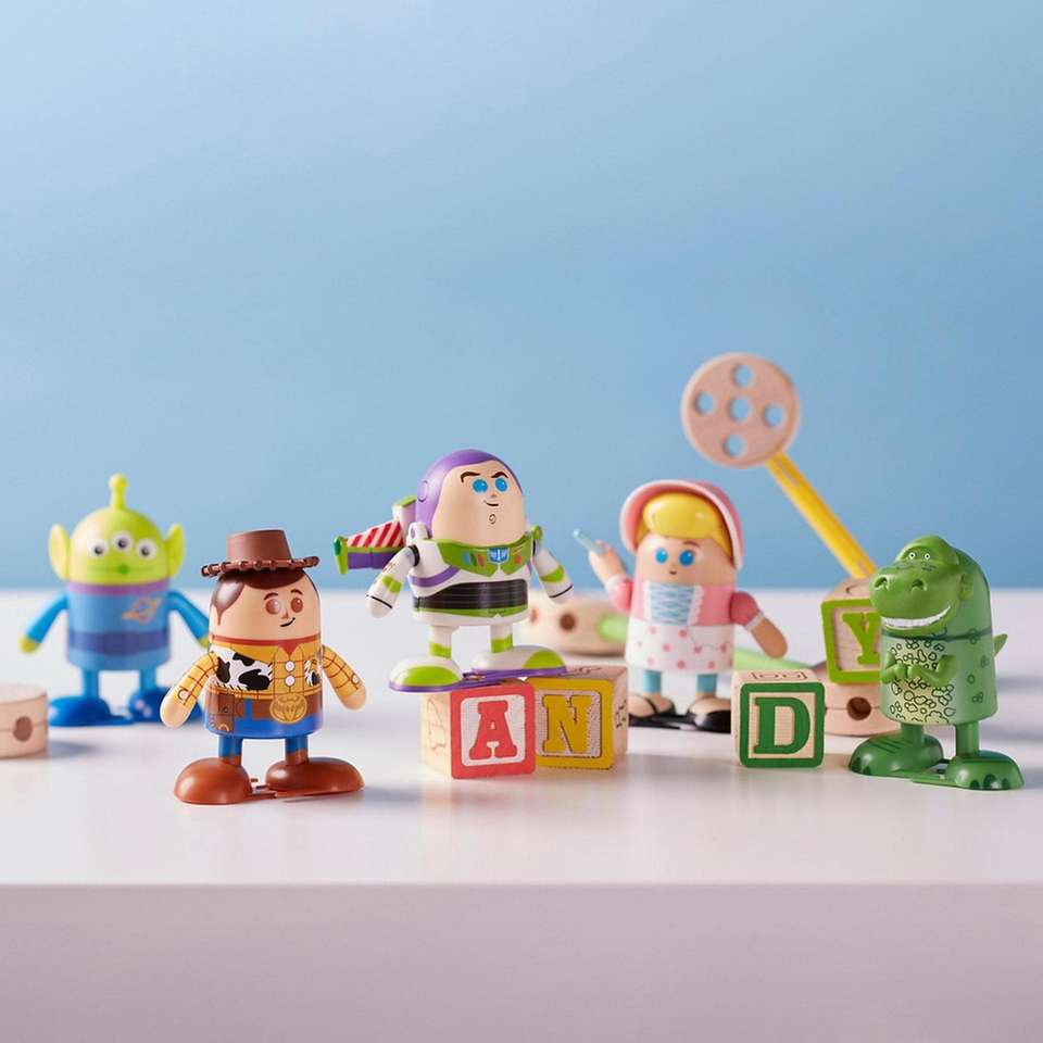 "Inspired by Pixar's ""Toy Story,"" these small figures"