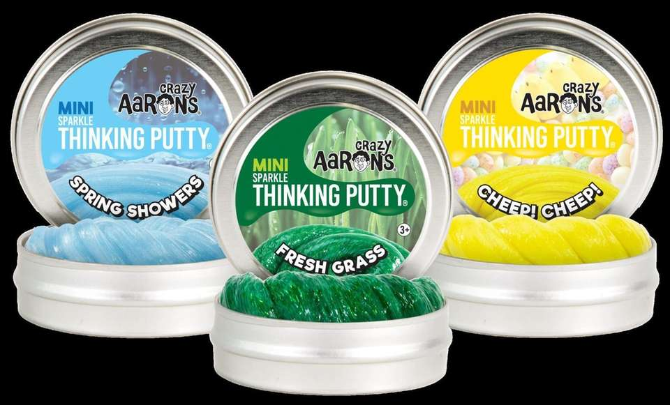 Great for Easter baskets, these mini tins of