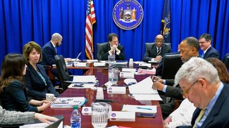 The state Joint Commission on Public Ethics meets