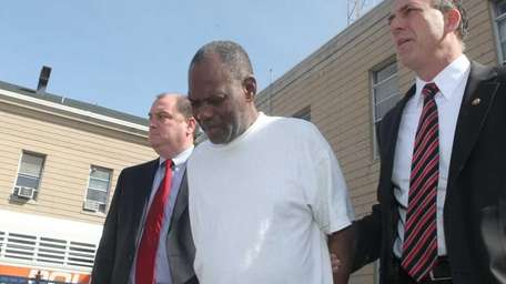 Paul Sampson, 65, of Hempstead, who is charged