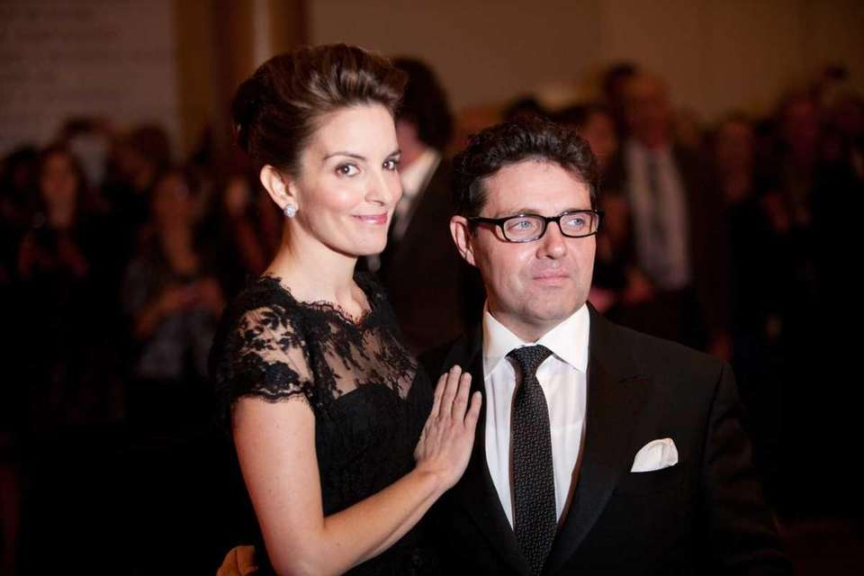 Comedian Tina Fey and her husband, Jeff Richmond,