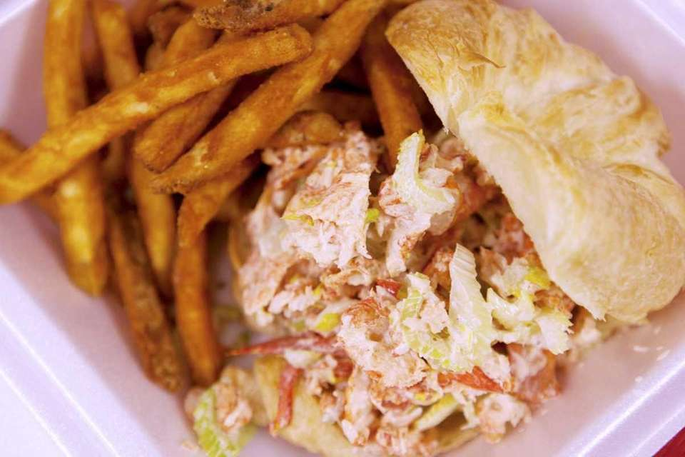 The lobster roll at Nader's Fish on The