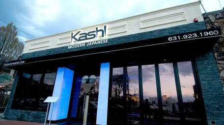 Kashi, a new Japenese restaurant on Elm Street