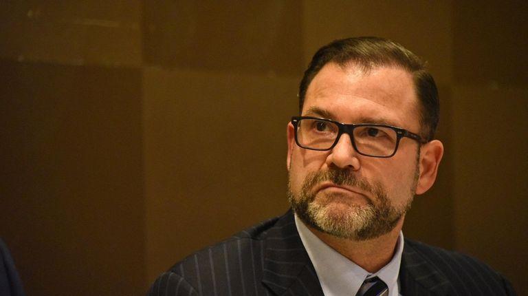 NIFA Chairman Adam Barsky during a public NIFA