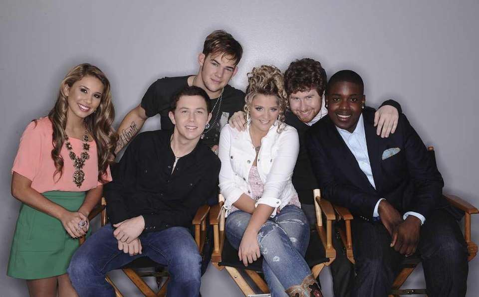 The Final 6, from left: Haley Reinhart, Scotty