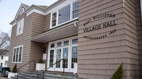 Polls will be open at East Williston Village