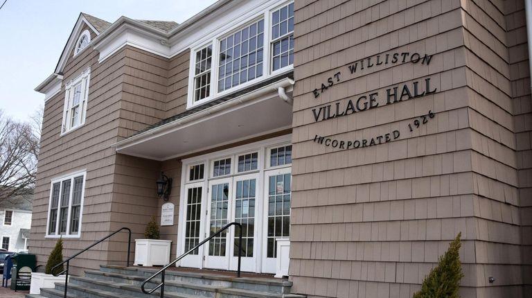 Polls will be open at East Williston Village