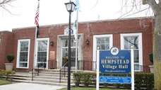 Hempstead Village Hall on Feb. 4, 2016.