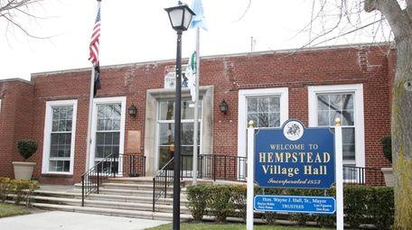 Hempstead Village Hall on Feb. 4, 2016.
