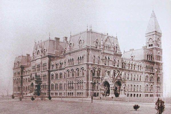 Main Building of St. Paul's School in Garden