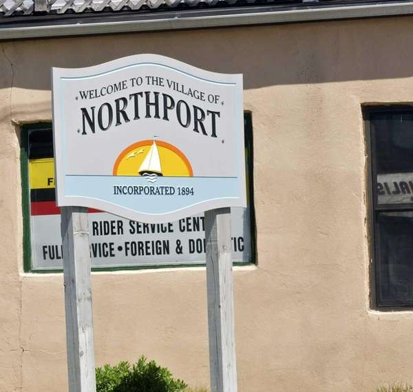 The Village of Northport is located in the