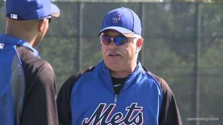 Former Mets' second baseman Wally Backman manages the