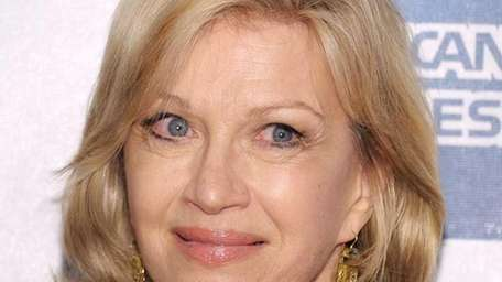 Diane Sawyer attends the premiere of