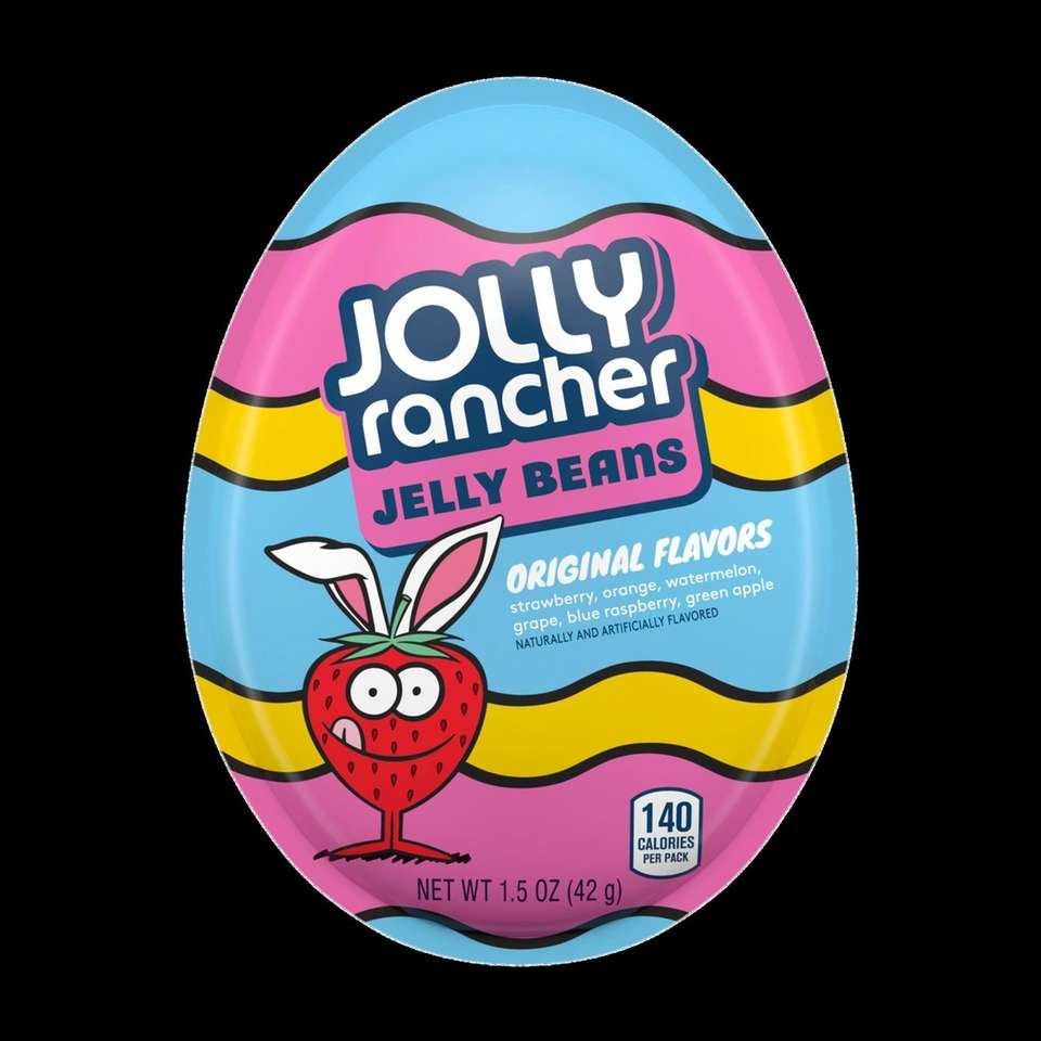 Only available during the Easter season, the egg-shaped