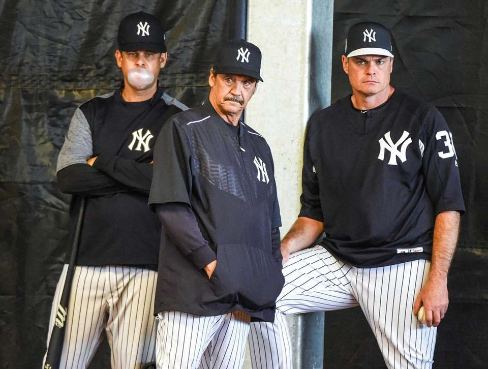 New York Yankees Manager Aaron Boone, Guest Instructor,