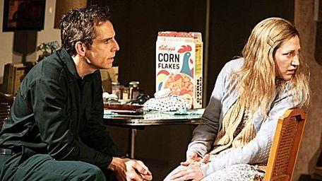 Ben Stiller and Edie Falco in