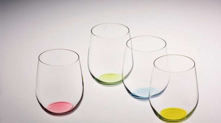 This set of Riedel Happy O Tumblers features