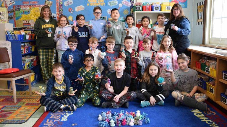 In East Setauket, Minnesauke Elementary School students and
