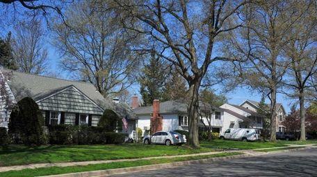 Sackville Road in Garden City. (April 26, 2011)
