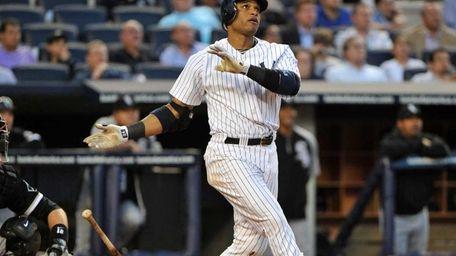 New York Yankees second baseman Robinson Cano (24)