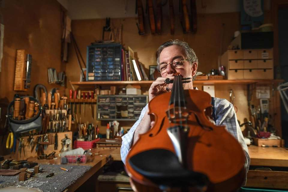 Charles has been crafting string instruments since 1974.