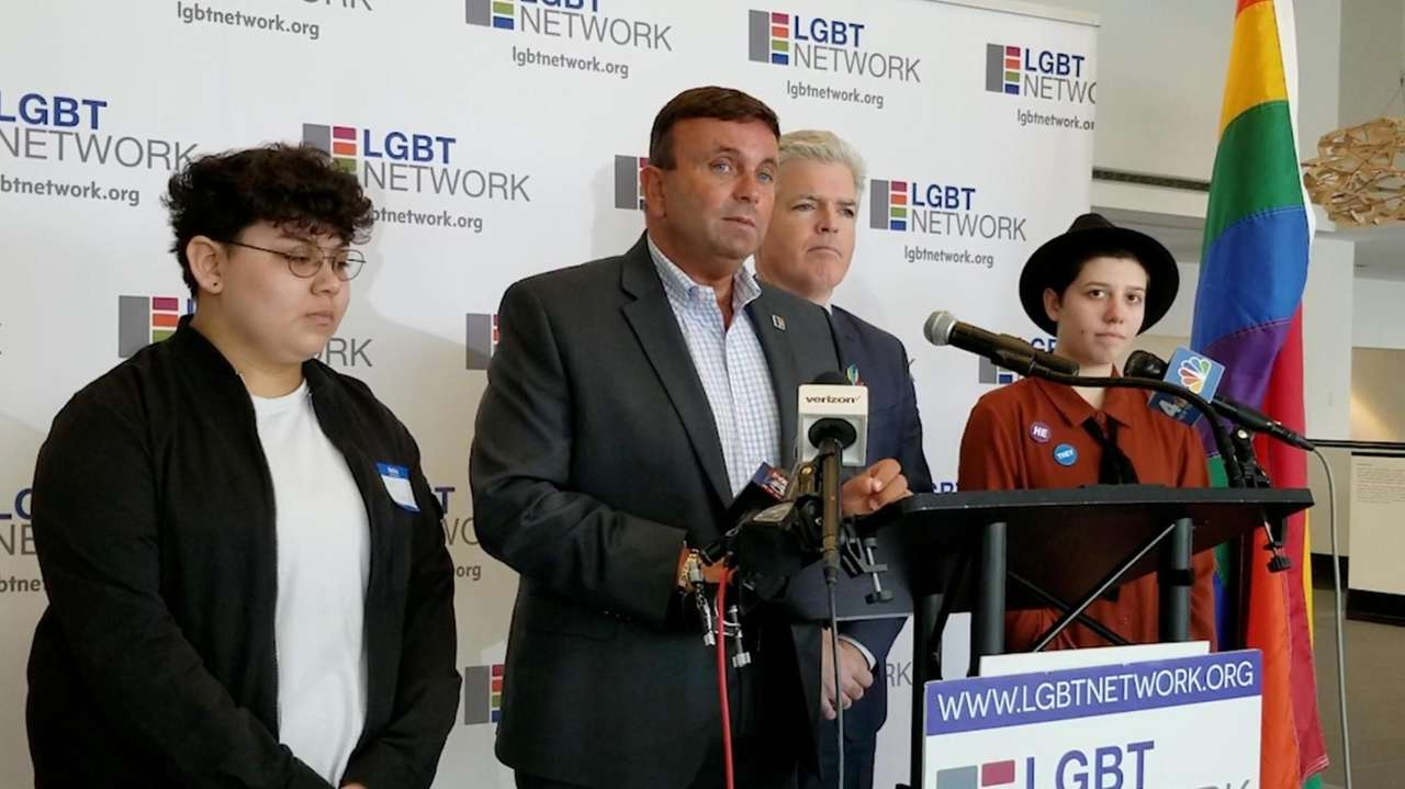 On Tuesday, the LGBT Network and the Suffolk County