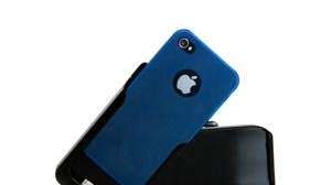 Blue cover in AmigoCase opened