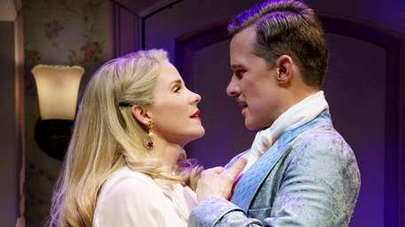 Kelli O'Hara and Will Chase star as bickering