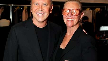 Michael Kors and his mother.