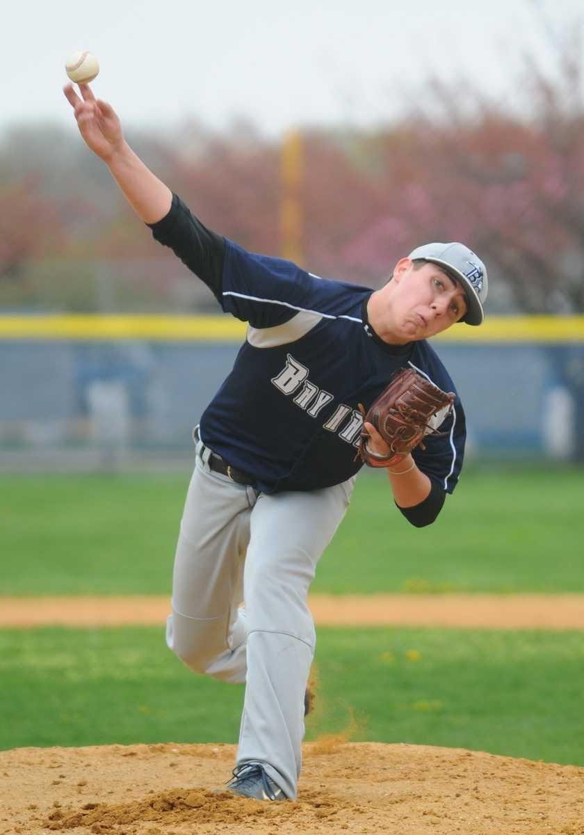 St. Dominic High School pitcher #1 Nick Batas