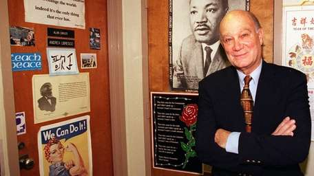 Michael D'Innocenzo, Hofstra Univesity professor emeritus of history,