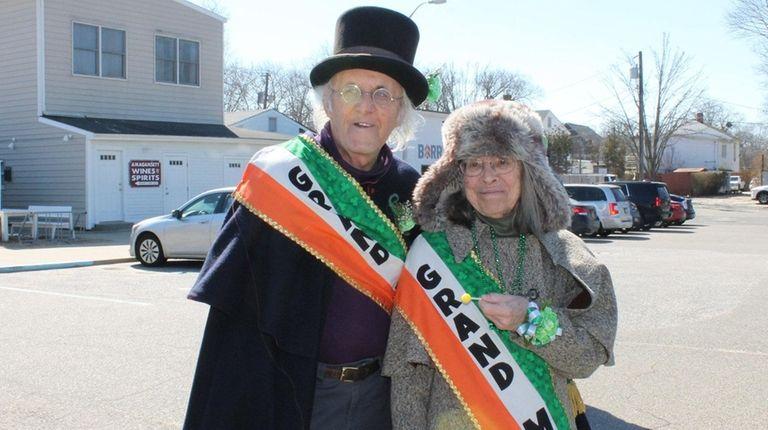 Hugh King and wife Loretta Orion were grand