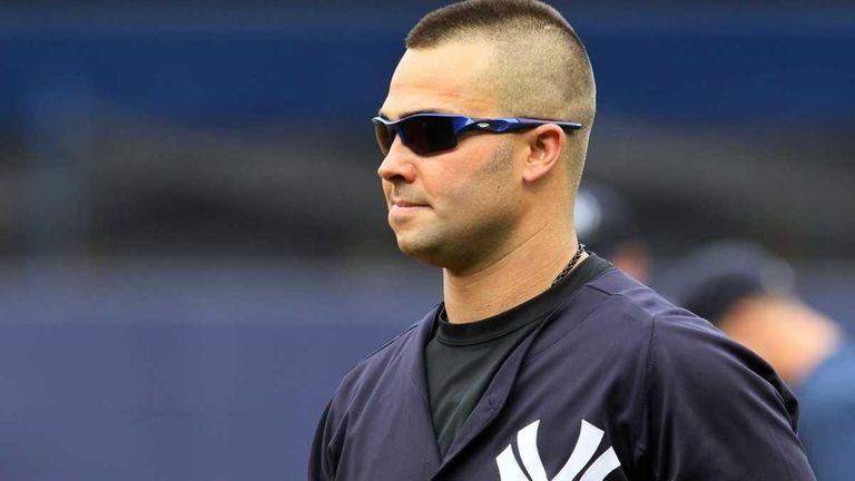 Nick Swisher #33 of the New York Yankees