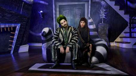 "Alex Brightman plays the title role in ""Beetlejuice,"""