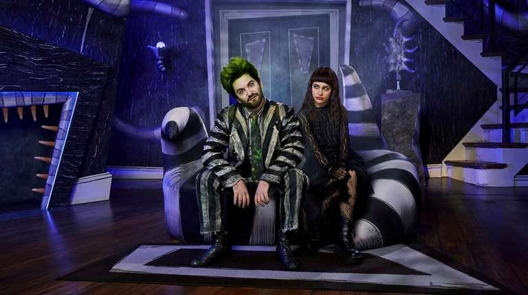 """Alex Brightman plays the title role in """"Beetlejuice,"""""""