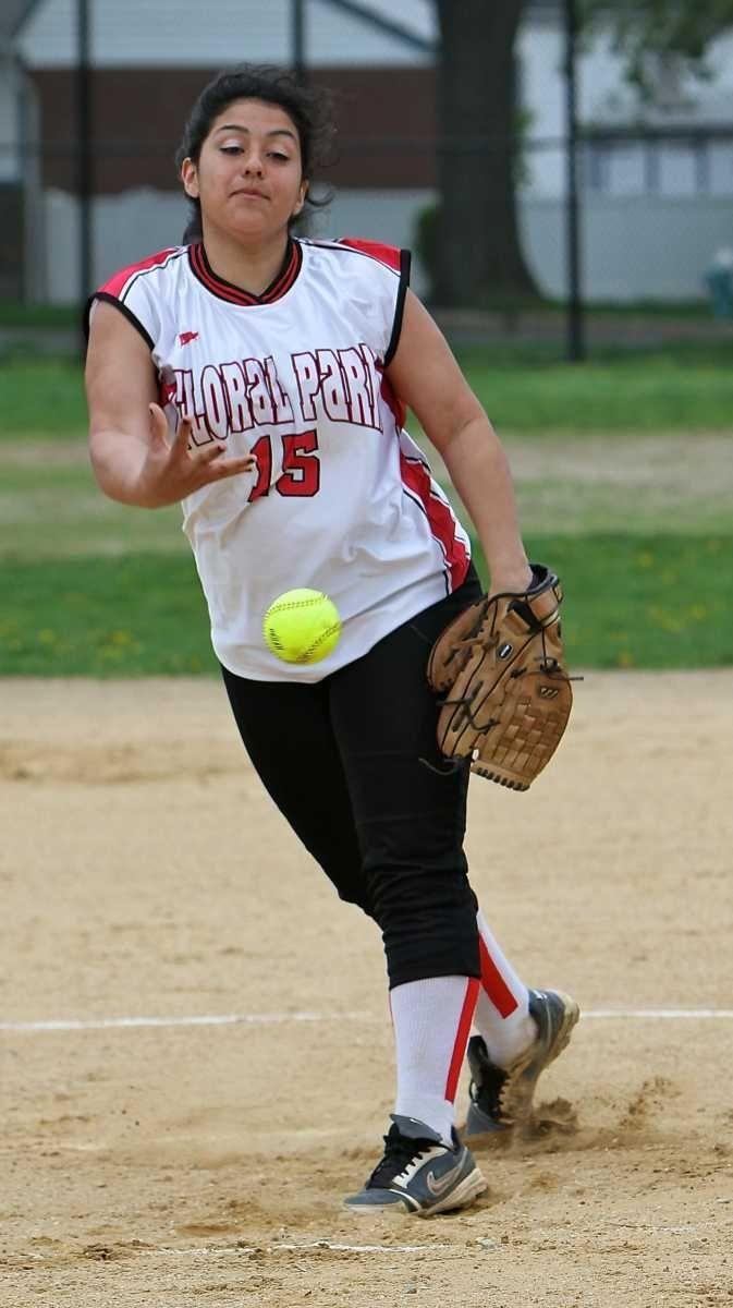 Starting pitcher for Floral Park #15 Melissa
