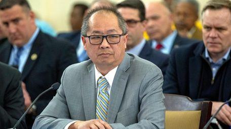 LIRR president Phillip Eng during a New York