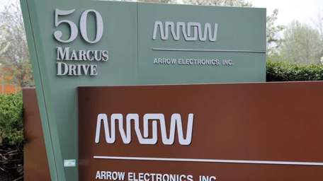 Arrow Electronics Inc. Melville headquarters. (April 27, 2011)