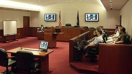Overview of the Digital Courtroom by DOAR. Monday,