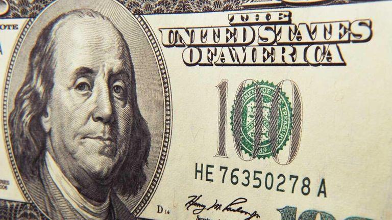 The U.S. hundred-dollar bill